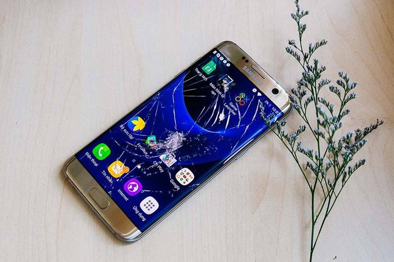 Thay màn hình Samsung man hinh samsung bi hu viendidong