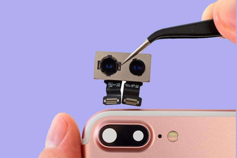 Thay camera sau iPhone thay camera iphone vien di dong 1