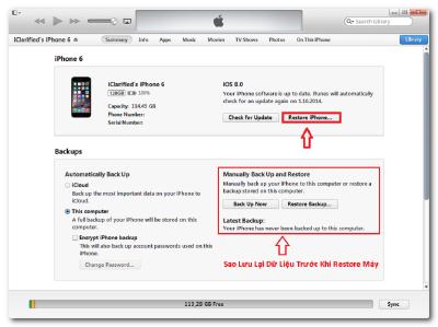 Cách Fix Lỗi Màn Hình iPhone 6 Bị Sọc Xanh. 1 3 400x299 2