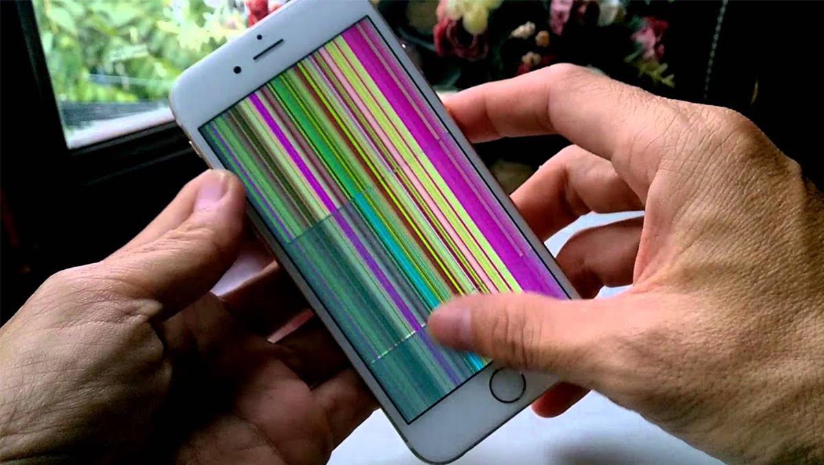 Màn hình iPhone 6 bị chập chờn – Nguyên nhân và cách khắc phục