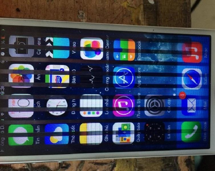 Vì sao màn hình iPhone 6 bị sọc đen? Cách khắc phục?