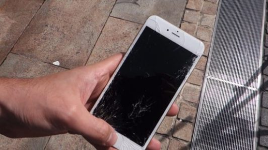 Màn hình iPhone 6, 6 Plus bị vỡ