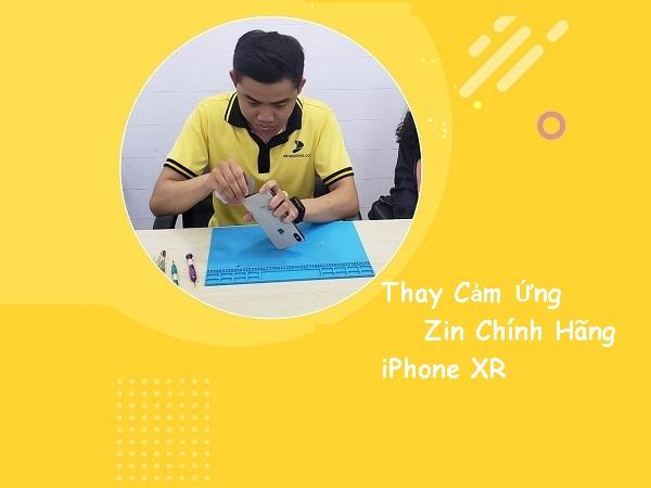 Thay cảm ứng iPhone Xr zin 100% ở đâu?