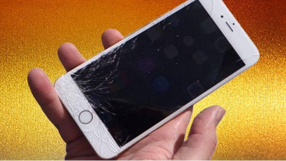 Xử lý màn hình iPhone 6 bị vỡ