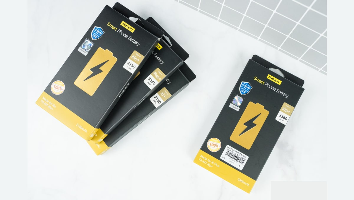 Pin Pisen iPhone 6 Plus giá bao nhiêu?