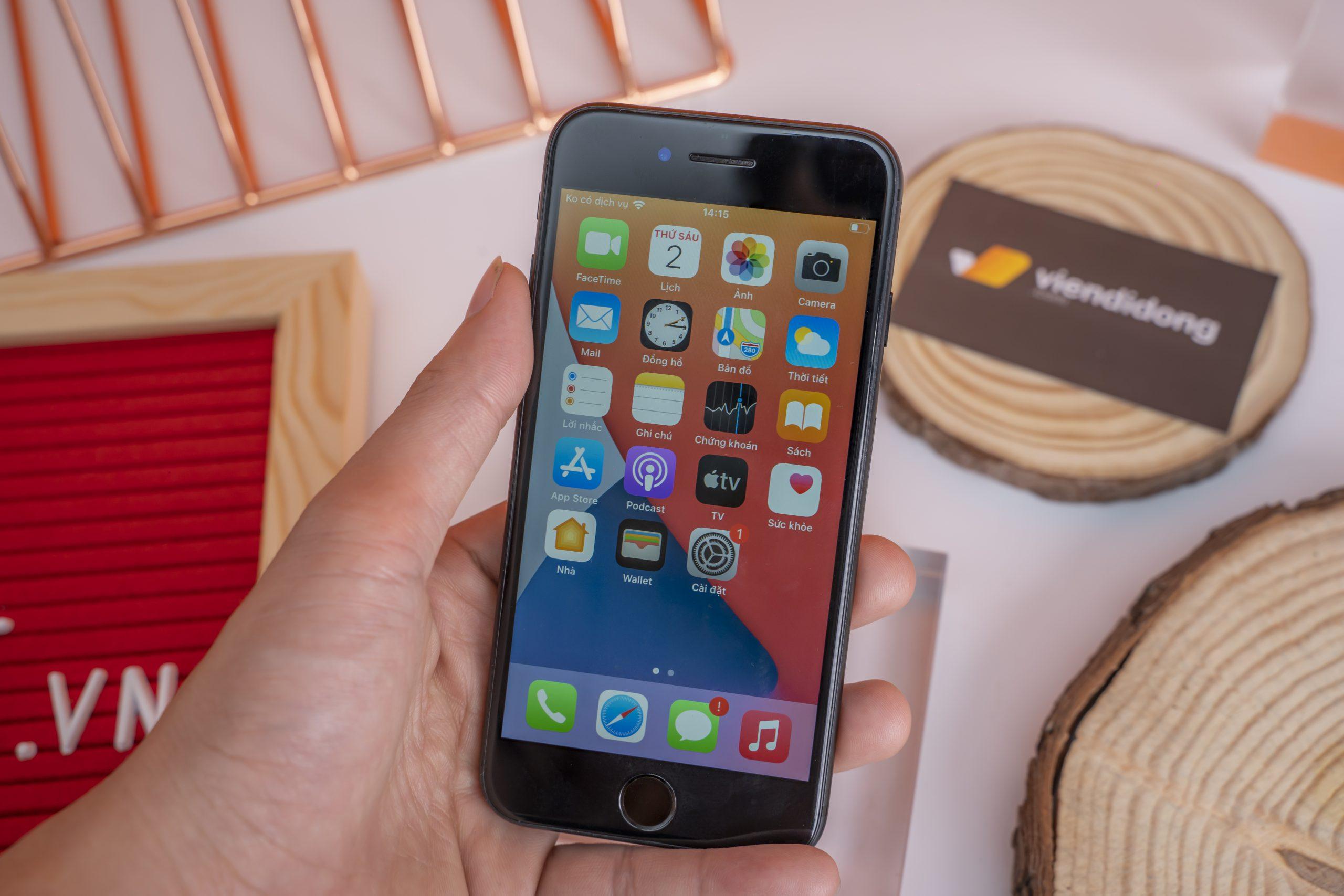 Màn hình iPhone 7 32GB là tấm nền IPS LCD 4,7 inch và độ phân giải 750 x 1334 pixels mang đến khả năng hiển thị sắc nét.