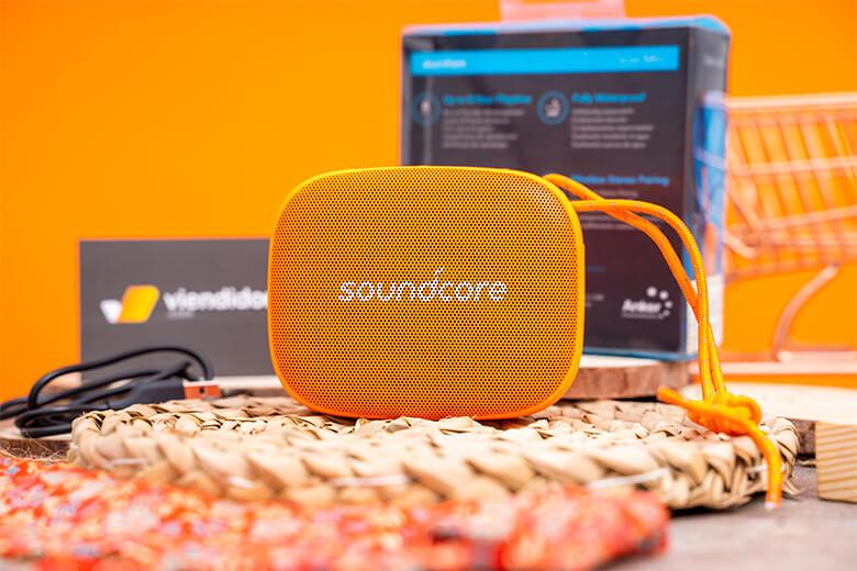 Loa Bluetooth Anker Soundcore Icon Mini loa anker co kha nang chong bui va nuoc viendidong