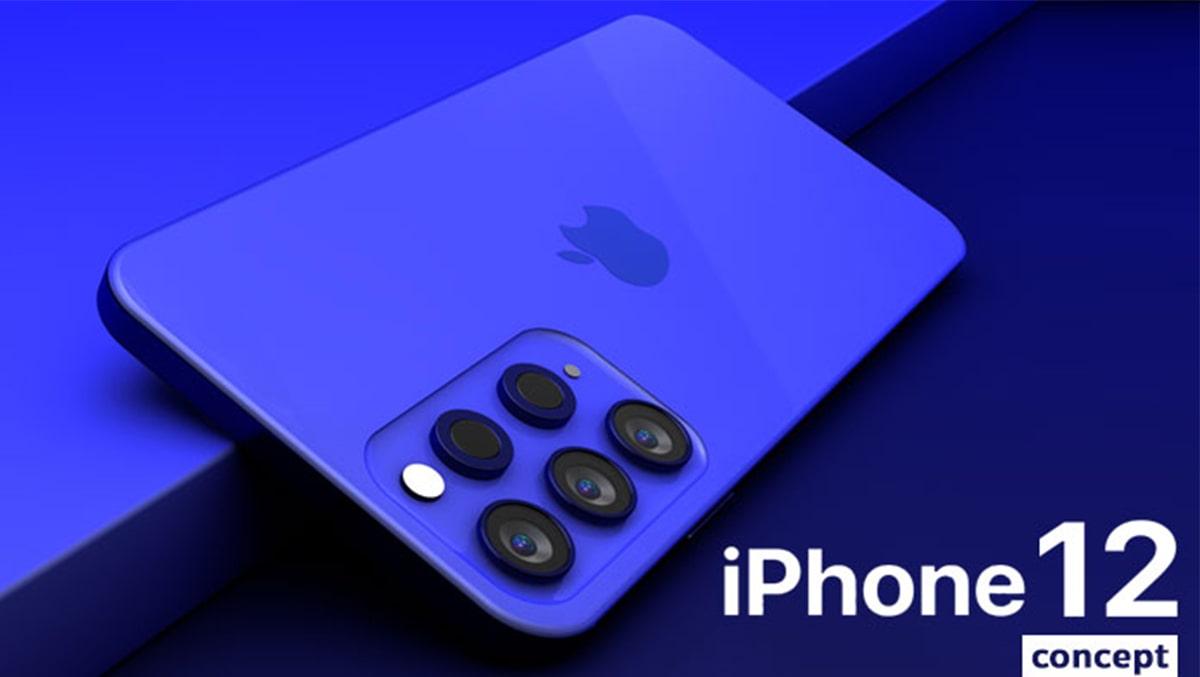 Nhiều khả năng mặt sau iPhone 12 Pro có đến 6 camera