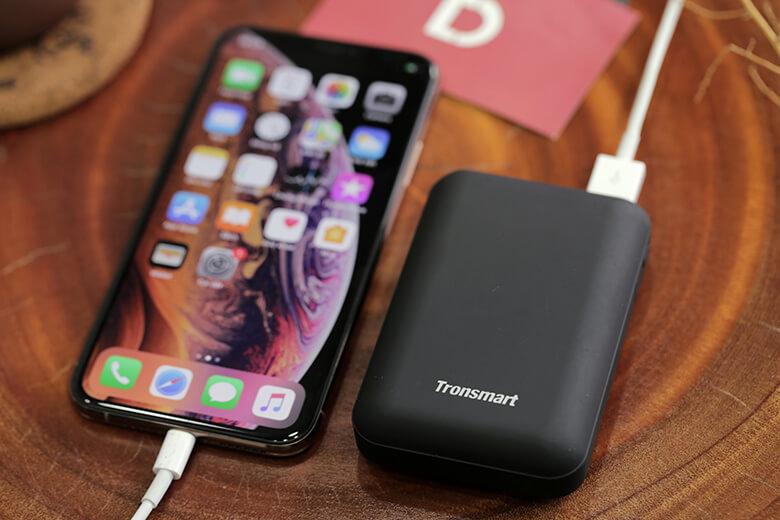 Pin sạc dự phòng Tronsmart PB10 Mini sử dụng cell pin Lithium Polymer chất lượng cao để đảm bảo an toàn tuyệt đối