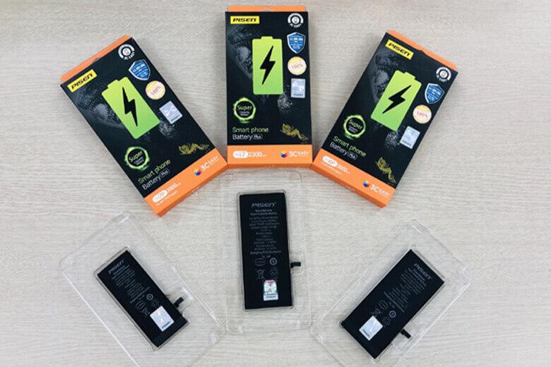 Pin Pisen dung lượng cao iPhone 6s Plus là loại được sản xuất từ thương hiệu nổi tiếng Pisen đến từ Trung Quốc, thương hiệu này đãđạt nhiều tiêu chuẩn đánh giá chất lượng hàng đầu thế giới như CQC , CCC, CE và UL.