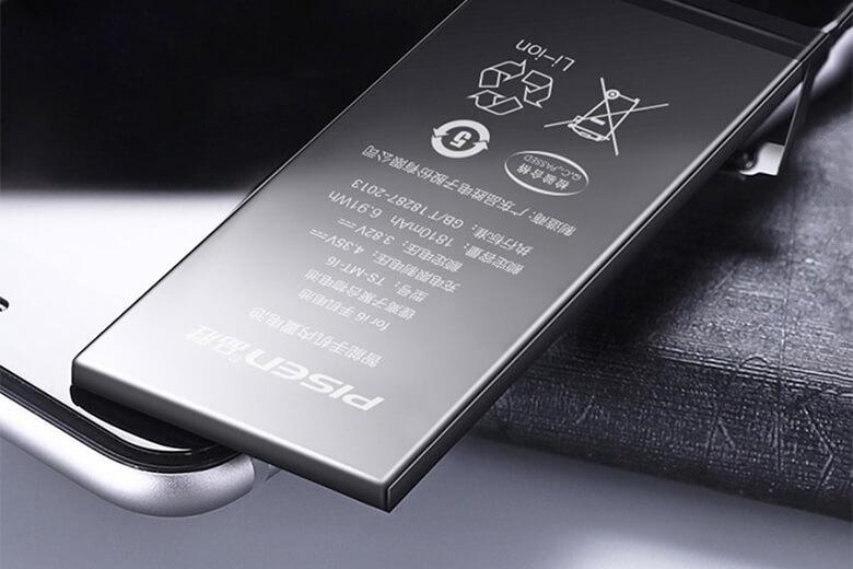 Pin Pisen iPhone 7 là loại được sản xuất từ thương hiệu nổi tiếng Pisen đến từ Trung Quốc, thương hiệu này đãđạt nhiều tiêu chuẩn đánh giá chất lượng hàng đầu thế giới như CQC , CCC, CE và UL.