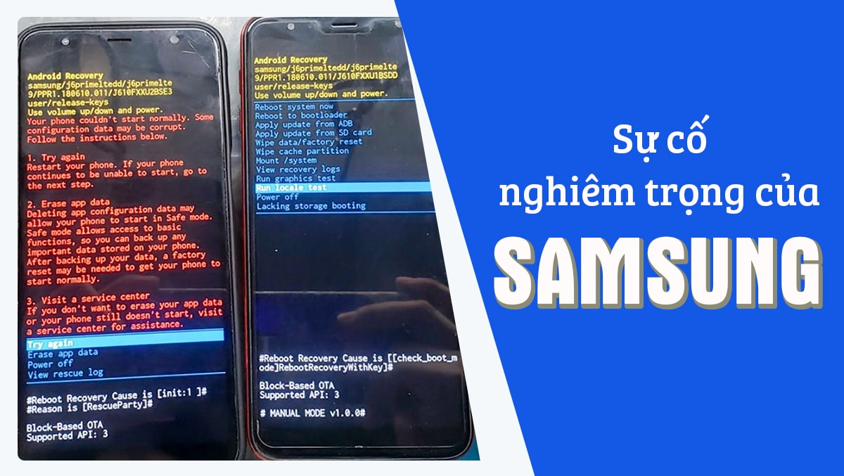 """Nhiều điện thoại Samsung bất ngờ gặp sự cố """"treo máy"""" nghiêm trọng tại Việt Nam"""