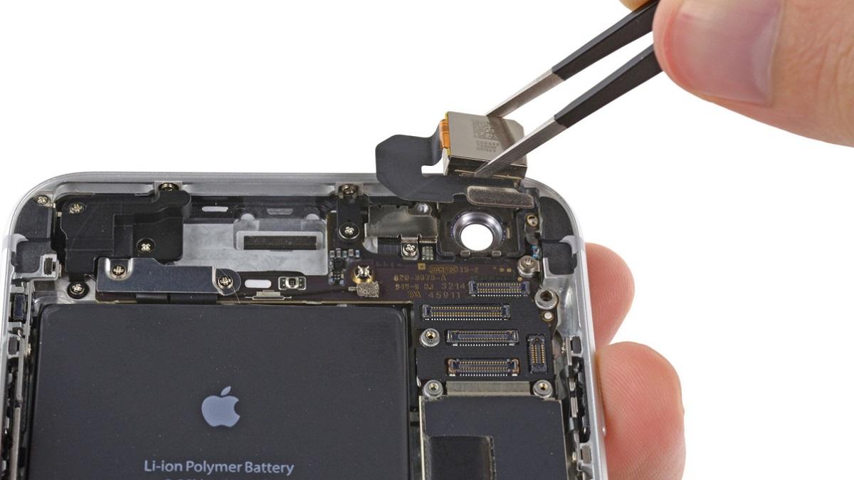 Phân biệt thay camera iPhone thật giả
