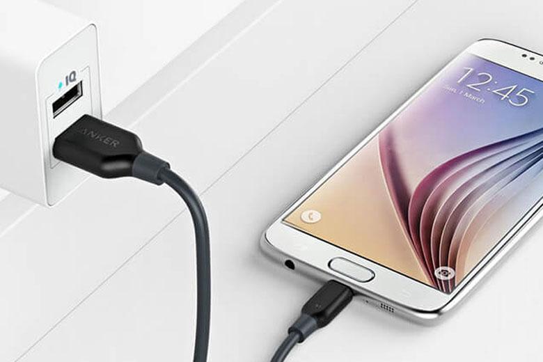 Cáp sạc Anker PowerLine MicroUSB (1ft/0.3m) Cable giá bao nhiêu