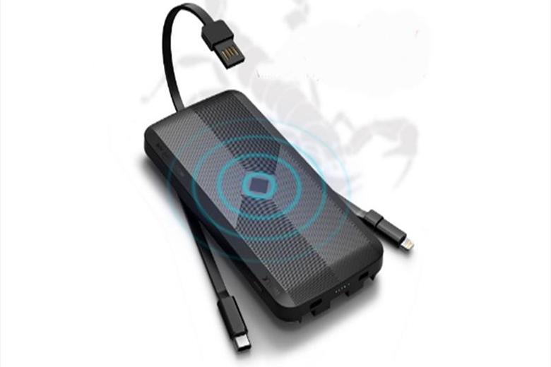 Pin sạc dự phòng trang bị cáp USB tiêu chuẩn chỉ cần mất thời gian khoảng 3 giờ 30 phút để sạc đầy khi sử dụng cùng với sạc QC2.0 / 3.0.