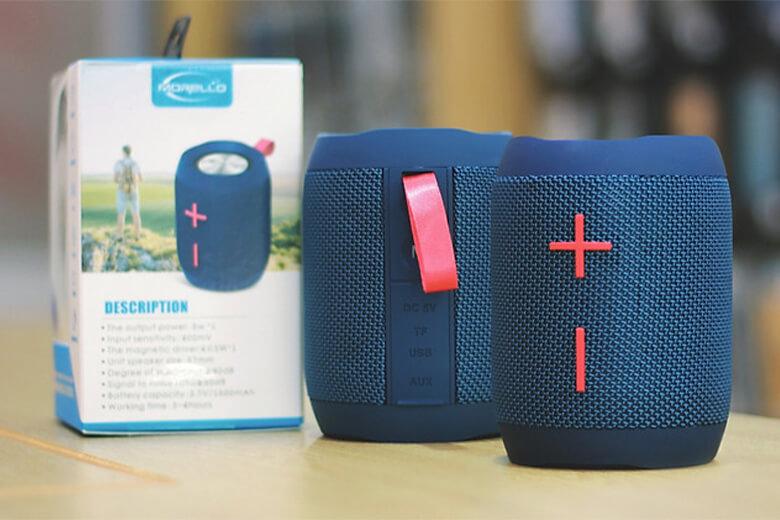 Loa Bluetooth TWS Morello BS03 được đánh giá là có khả năng chống nước rất tốt, thích hợp sử dụng trong môi trường thời tiết ẩm ướt hay mưa gió