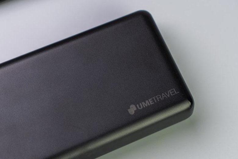 pin sạc dự phòng Polymer 20000 mAh - Umetravel Trip20C có thiết kế nhỏ gọn
