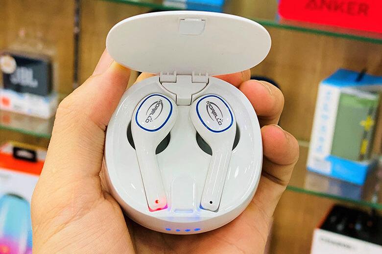 Tai nghe Bluetooth TWS Morello E200 được nâng cấp chính về phần chất âm cho ra chất lượng âm thành chân thực và sắc nét hơn bao giờ hết