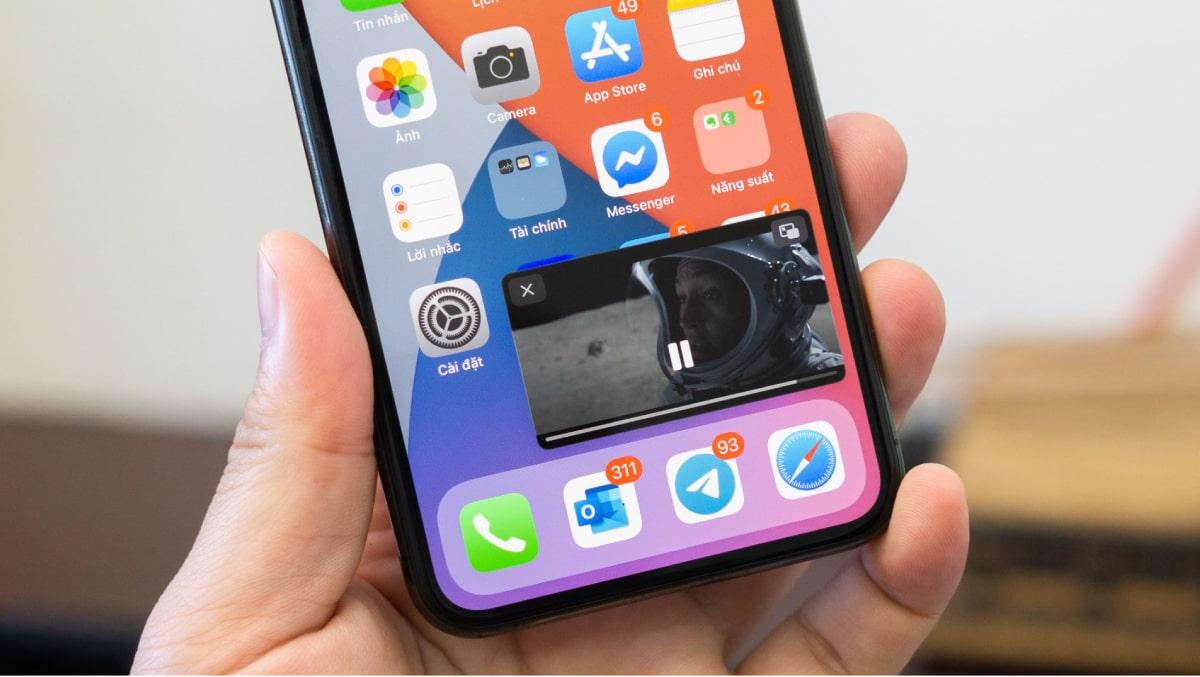 Youtube tiếp tục cho phép người dùng sử dụng tính năng Picture-in-Picture xem video trên iOS 14