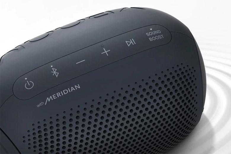 Chất lượng âm thanh tốt với công nghệ Meridian
