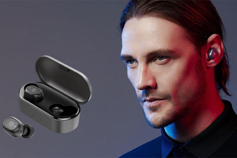 thiết bị còn kết hợp với Bluetooth 5.0 hỗ trợ việc ghép đôi với các thiết bị nhanh chóng và tự động