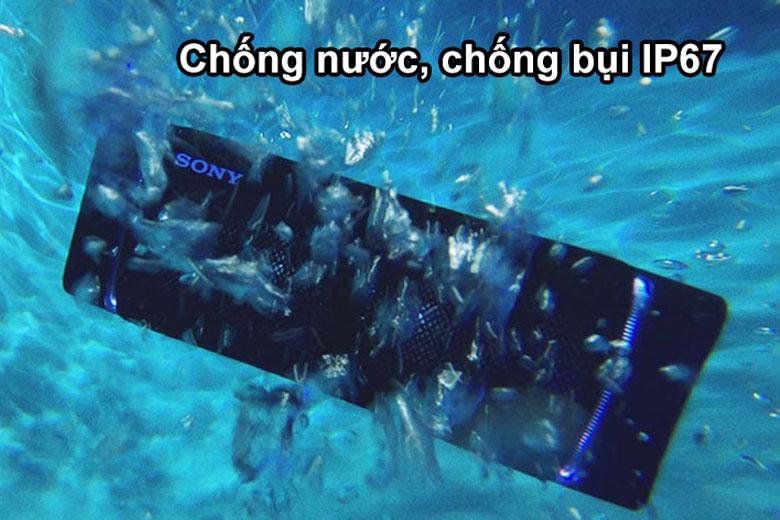 Loa Bluetooth Sony SRS-XB43 chống nước tốt