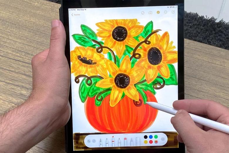 iPad 10.2 inch (2020) 32GB Wifi có bút spen cải tiến