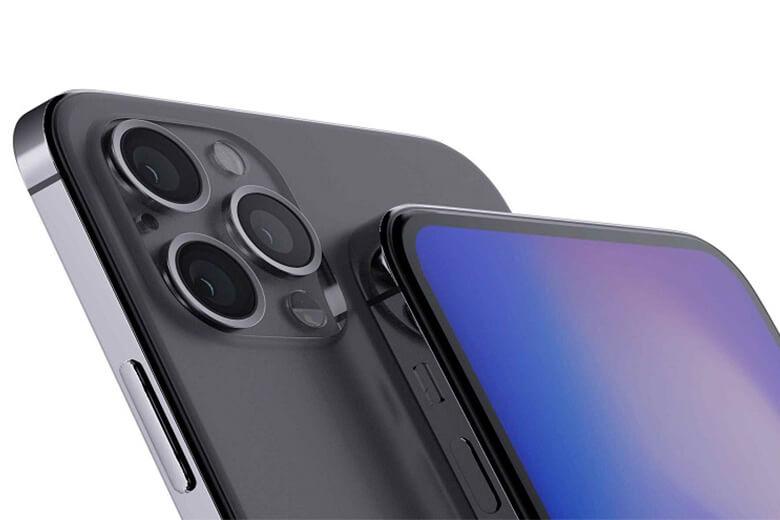 Camera của dòng iPhone 12 Pro đi kèm với ba cảm biến 12MP, Ultra Wide (f / 2.4) + Wide (f / 1.6) + Telephoto (f / 2.2) và được hỗ trợ bởi máy quét LiDAR để tự động lấy nét nhanh hơn trong điều kiện ánh sáng yếu. Điều này cũng rất có ích khi sử dụng các ứng dụng AR.