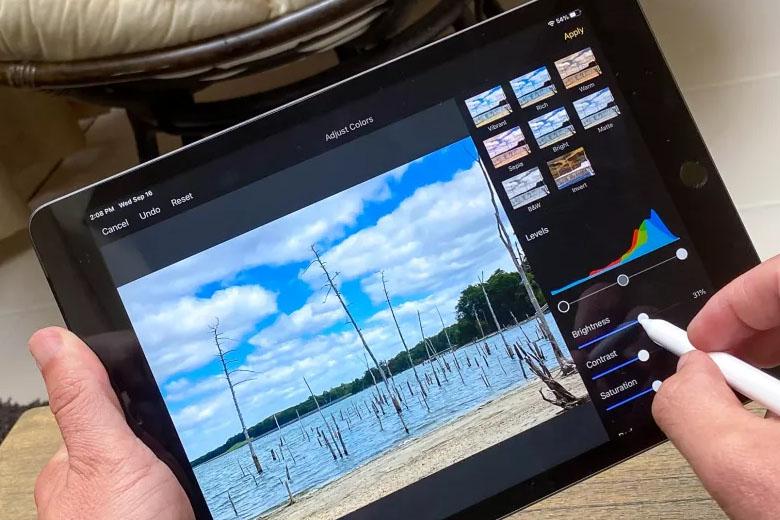 iPad 10.2 inch (2020) 32GB Wifi có thiết kế hiện đại