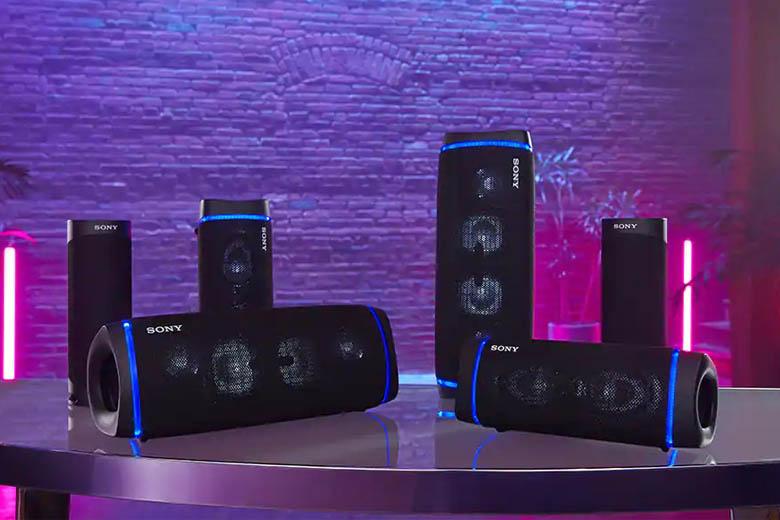 Loa Bluetooth Sony SRS-XB33 sở hữu thiết kế năng động