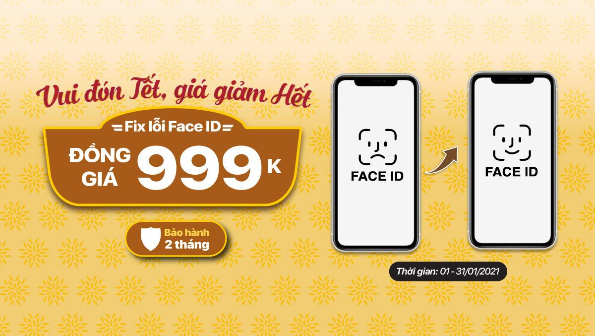 Viện Di Động ra mắt dịch vụ sửa chữa mới – Sửa lỗi Face ID cho iPhone đồng giá 999k