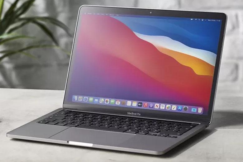 Macbook Pro M1 256GB (2020) sở hữu màn hình sắc nét