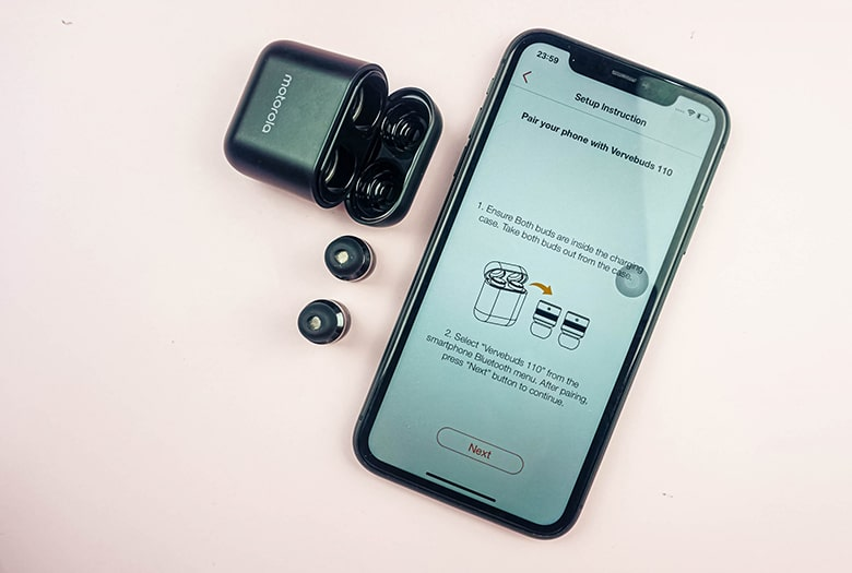 Tai nghe Bluetooth Motorola Vervebuds 110 tai nghe bluetooth motorola vervebuds 110