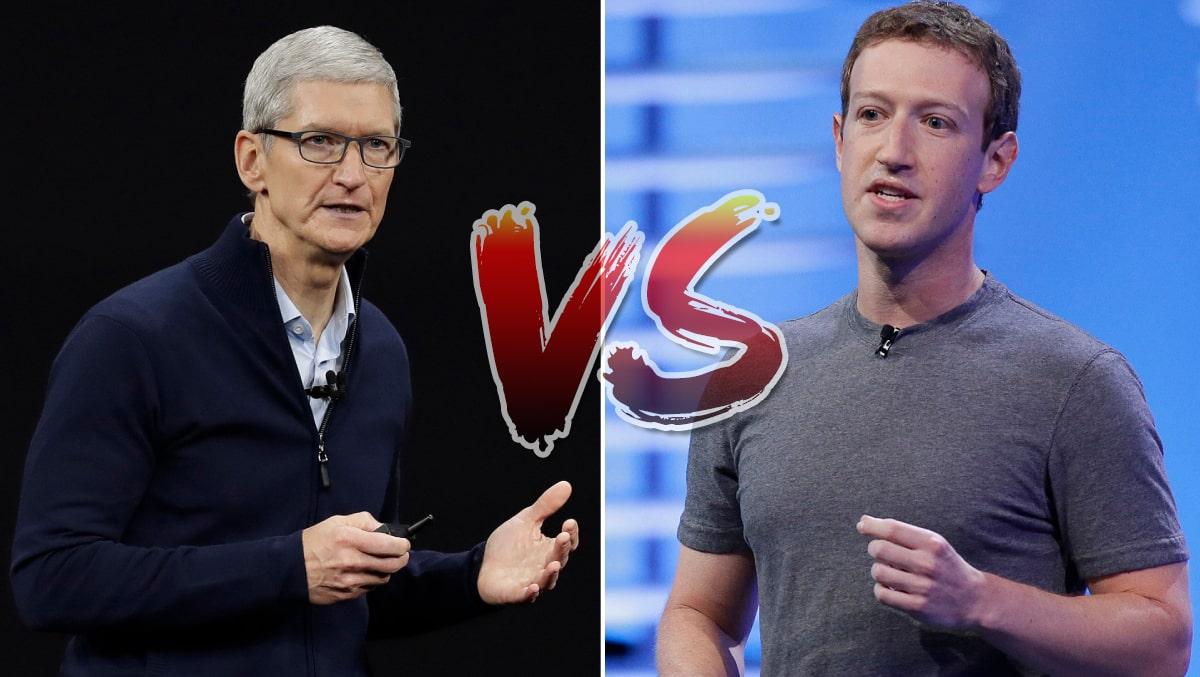Tin Nóng: Facebook khẩu chiến lớn với Apple