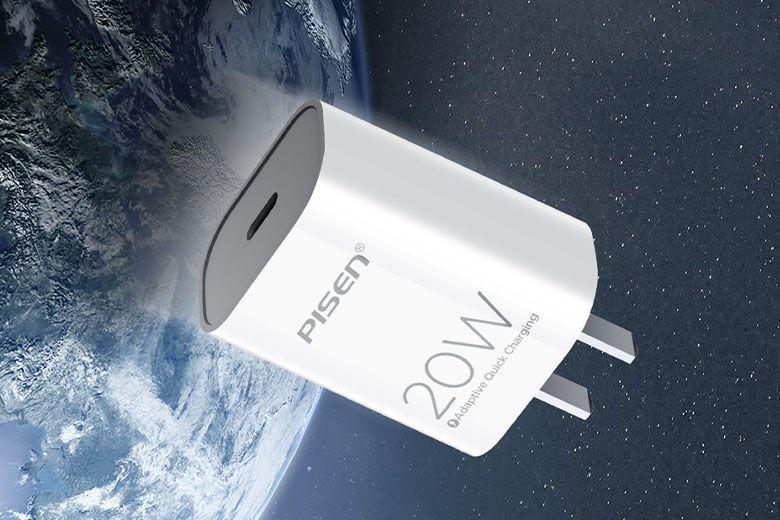 Củ sạc nhanh dành cho iPhone chính hãng Pisen