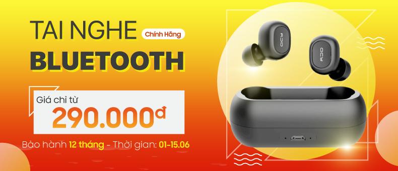 Tai nghe Bluetooth chính hãng chỉ từ 290k