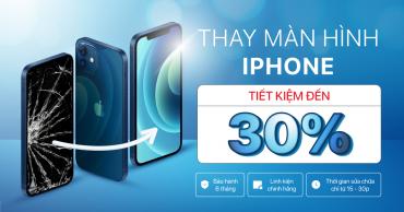 Thay màn hình iPhone chính hãng và nhanh gọn mà còn tiết kiệm được đến 30% – Đến Viện Di Động ngay