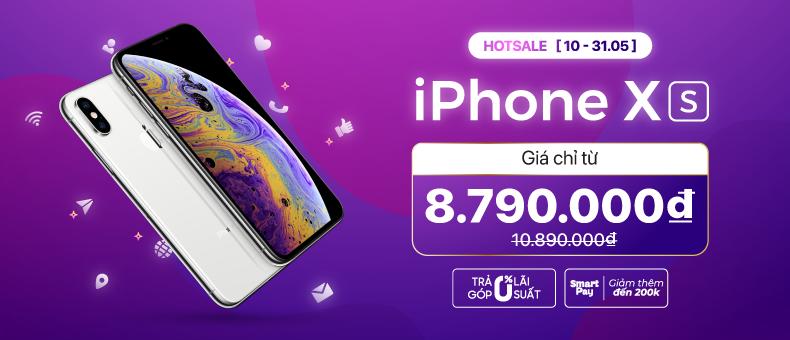 iPhone Xs giá chỉ từ 8.790.000đ
