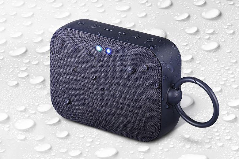 Loa Bluetooth LG XBOOM GO PN1 chịu được tia nước áp suất thấp phun xa 2,5-3m trong 3 phút