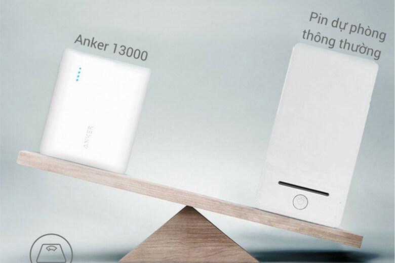 Thiết kế Anker PowerCore 13000mAh A1215