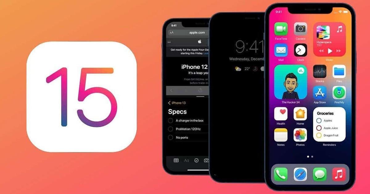 Các tính năng sắp ra mắt trên iOS 15 và iPadOS 15