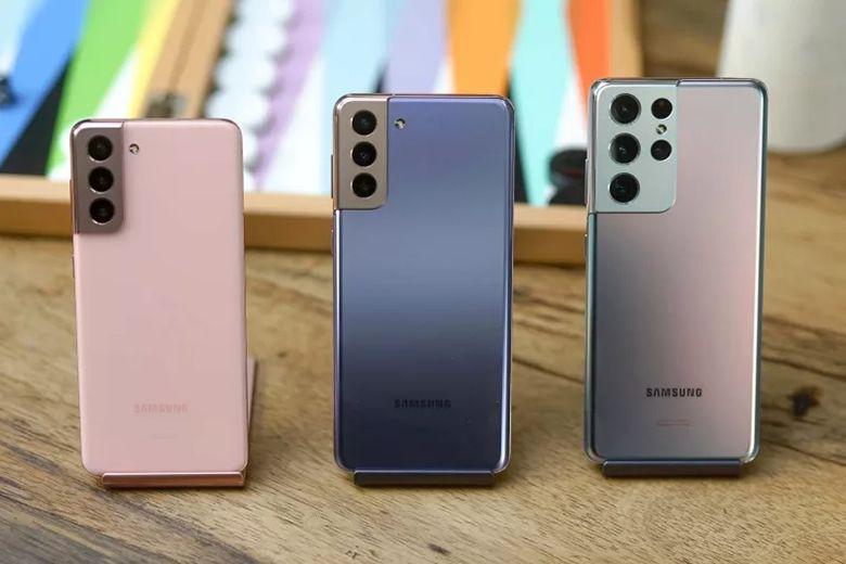 Samsung Galaxy S21 5G, S21 Plus 5G và S21 Ultra 5G