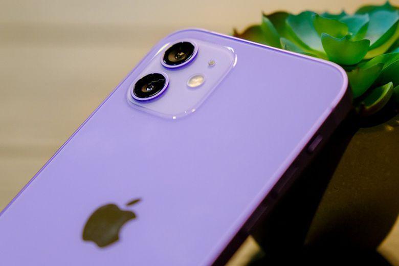 Trên tay và đánh giá nhanh iPhone 12 phiên bản màu tím cum camera iphone 12 mau tim viendidong