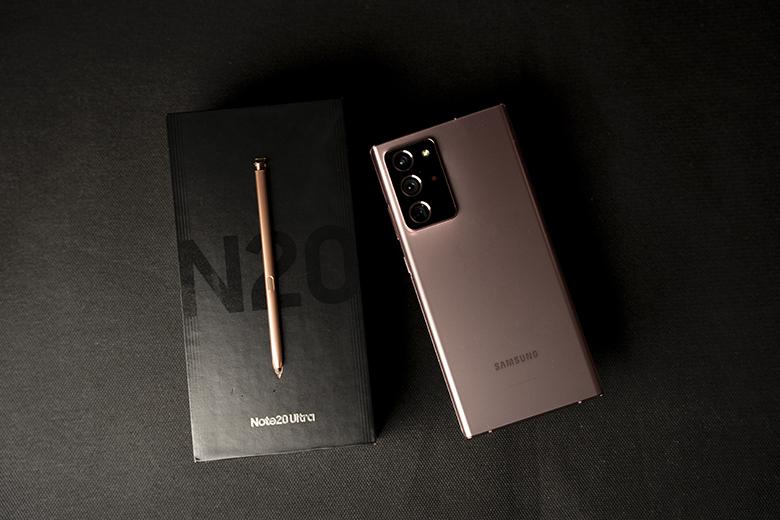 Galaxy Note 20 là một trong những thiết bị bán chạy của Samsung