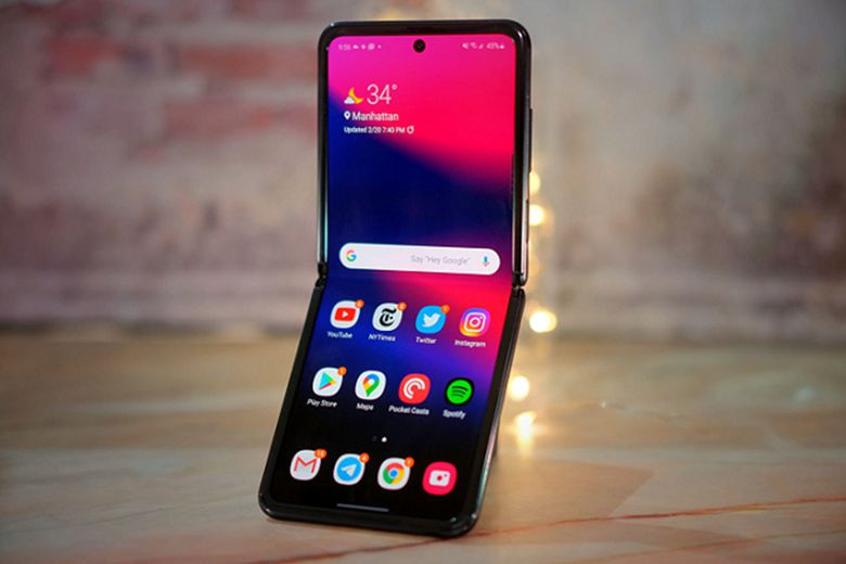 Samsung đã công bố hai điện thoại Z Flip là: Galaxy Z Flip và Z Flip 5G vào năm ngoái