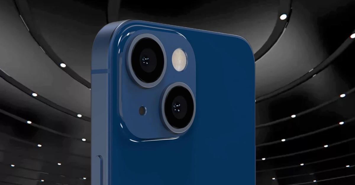 Hình ảnh đầu tiên của iPhone 13 mini với camera sau được thiết kế lại