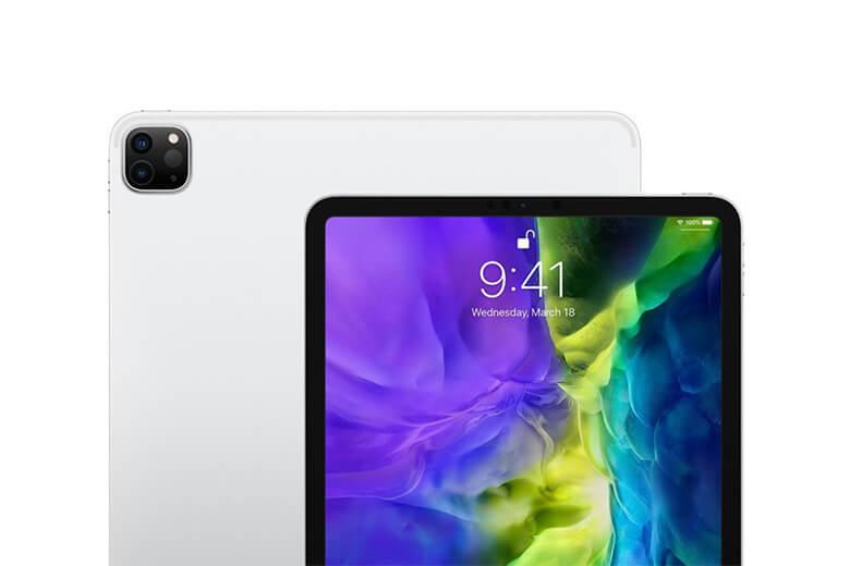 iPad Pro 2021 11 inch Wifi được Apple tích hợp một cụm camera sau với góc chụp siêu rộng có độ phân giải lên đến 12MP với trường nhìn 122 độ, camera siêu rộng 10MP và một máy quét LiDAR.