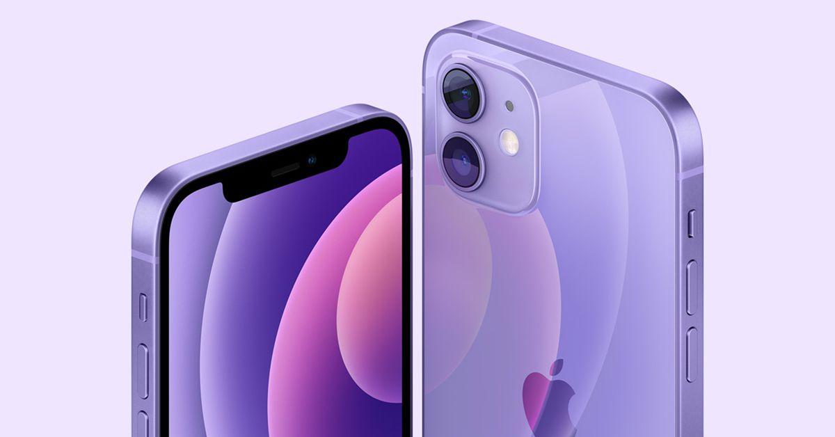 Apple ra mắt iPhone 12 và iPhone 12 mini màu tím tuyệt đẹp với giá không đổi