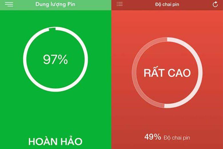 Khi kiểm tra nếu viên pin đã chai trên 40% bạn nên thay pin iPhone 7 ngay để thiết bị được đảm bảo an toàn sử dụng mượt mà.