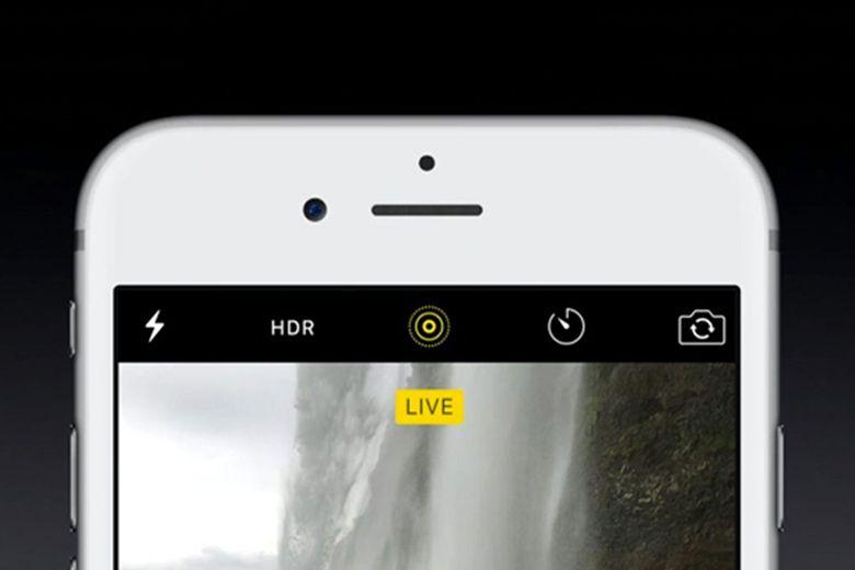 Bật chế độ Live Photo khi chụp ảnh